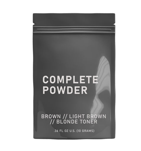 Picture of HAIRPRINT True Color Restorer | Component (Step-5): Complete Powder (Brown/Light Brown)