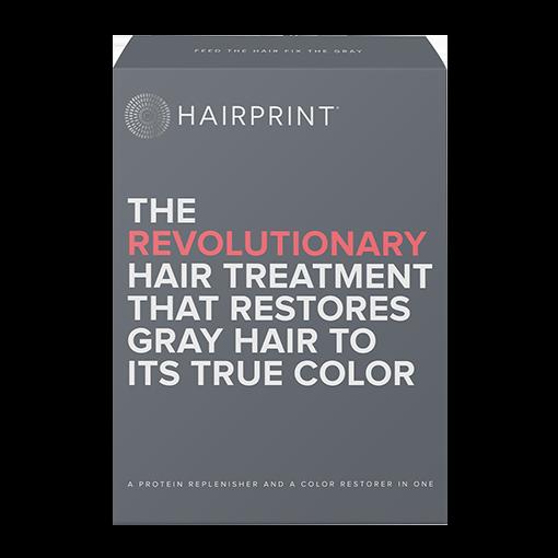 HAIRPRINT Re-pigment Color Restorer for Men | Kit-2: BROWN